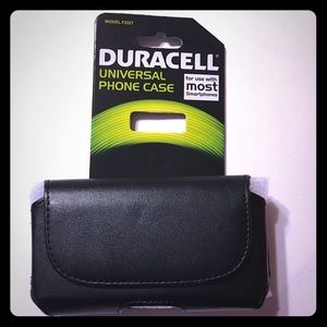 NWT Duracell Universal phone case